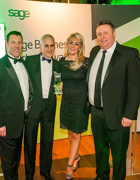Pinnacle commended as top Sage 200 and Sage 200 CRM partner by Sage UKI in annual awards ceremony