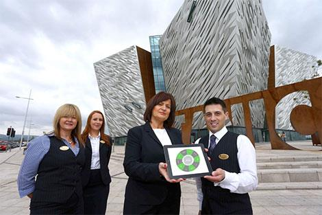 Pinnacle to Support Titanic Belfast