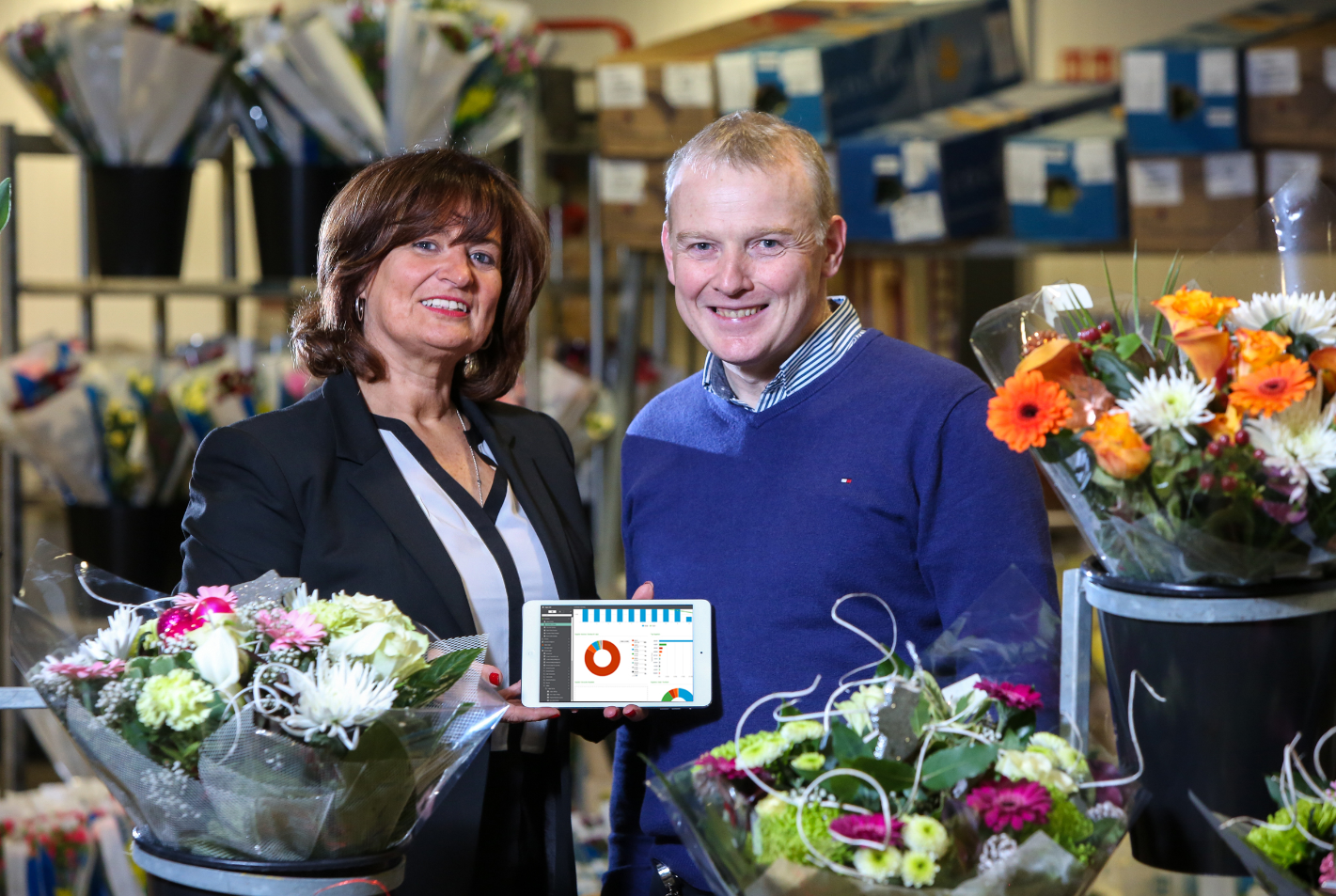 Pinnacle helps Kelly Flowers Wholesale manage its flourishing business with new financial software