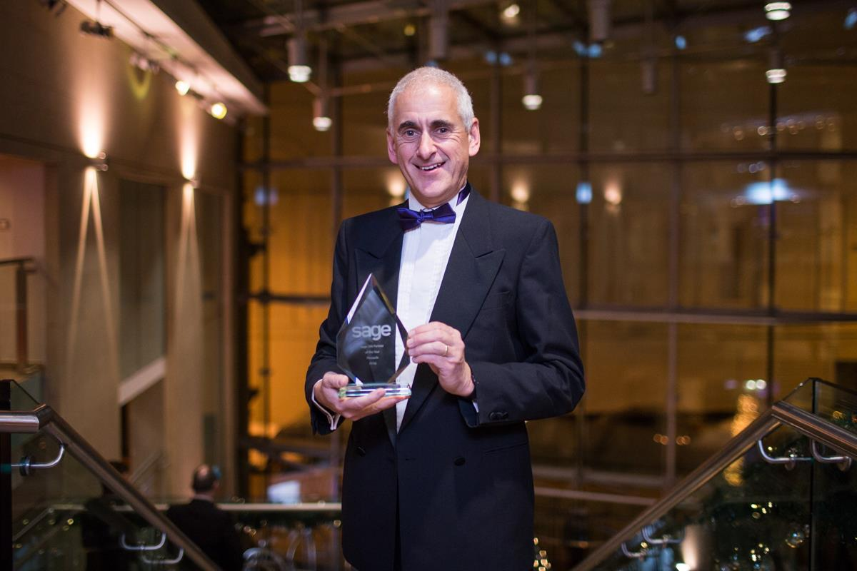 Awards hat-trick for Pinnacle at Sage UK annual business awards