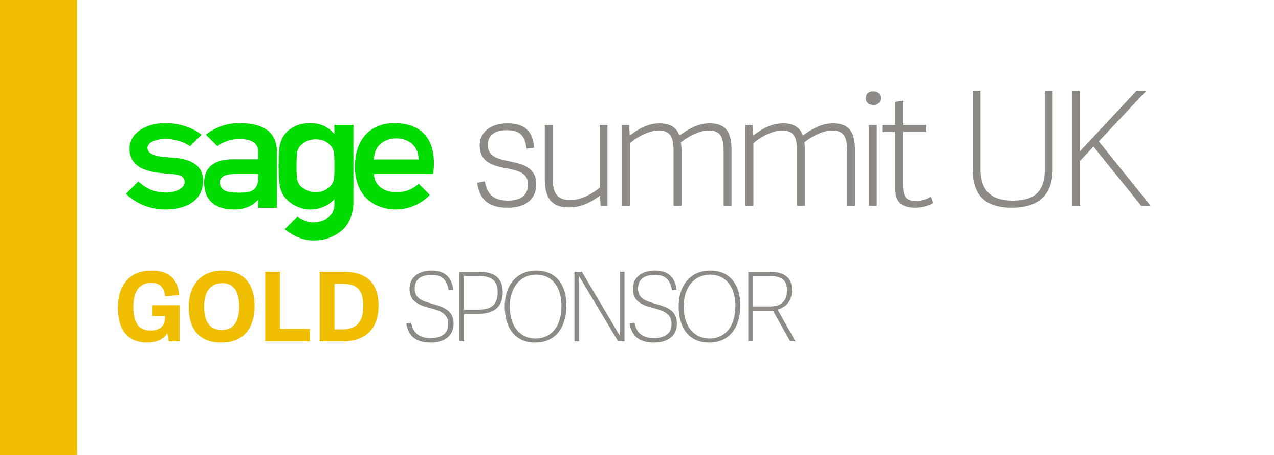Pinnacle Gold Sponsors of Sage Summit UK