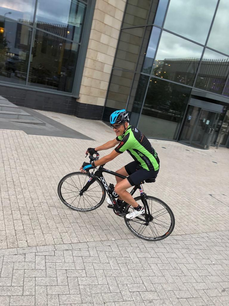 Team Pinnacle join Sage Foundation's Life Cycle London to Paris 2019