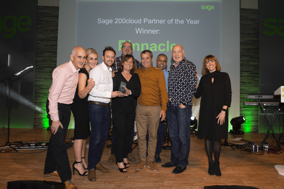 Double-digit growth secures Pinnacle top award with Sage